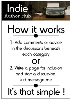 Indie Author How it Works