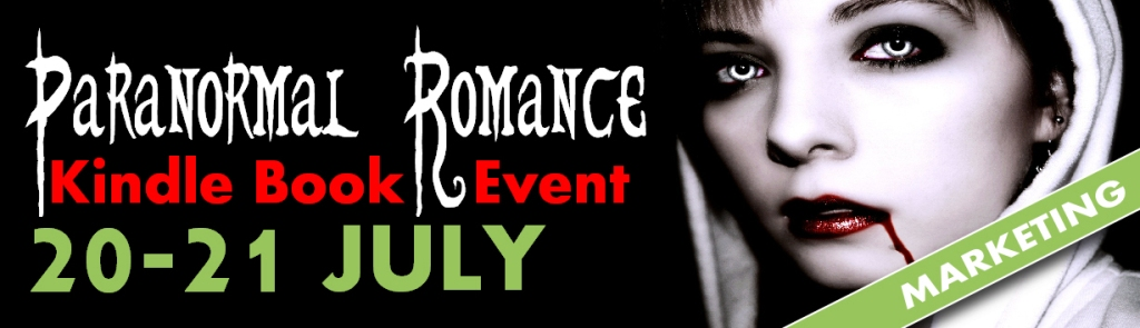 Paranormal Romance Promo Event Marketing Banner
