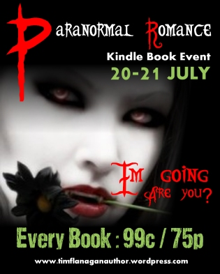 Paranormal Romance Event - Im going Poster
