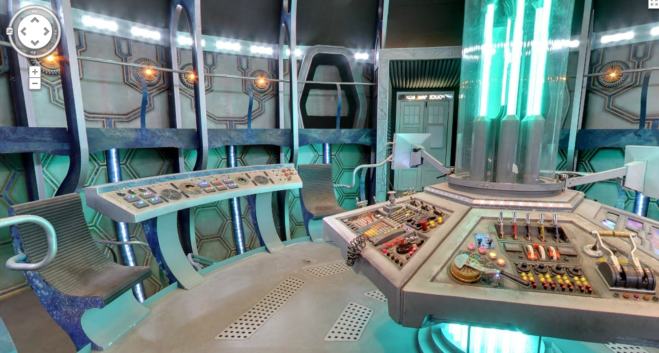 Google Map Inside Tardis