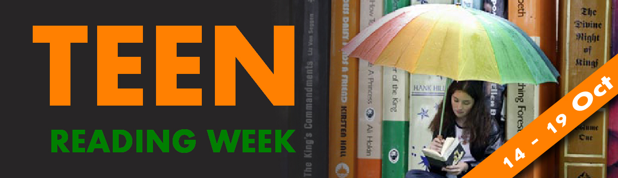 Teen Reading Week Banner