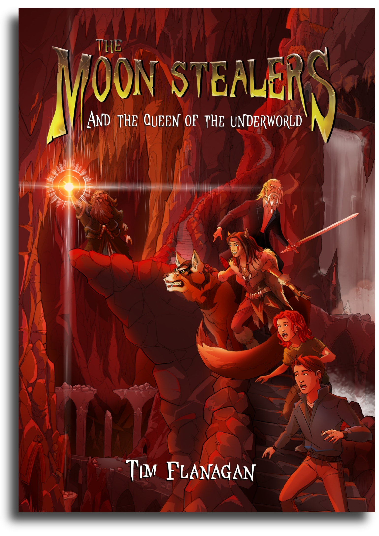 The Queen of the Underworld (The Moon Stealers Book 2)