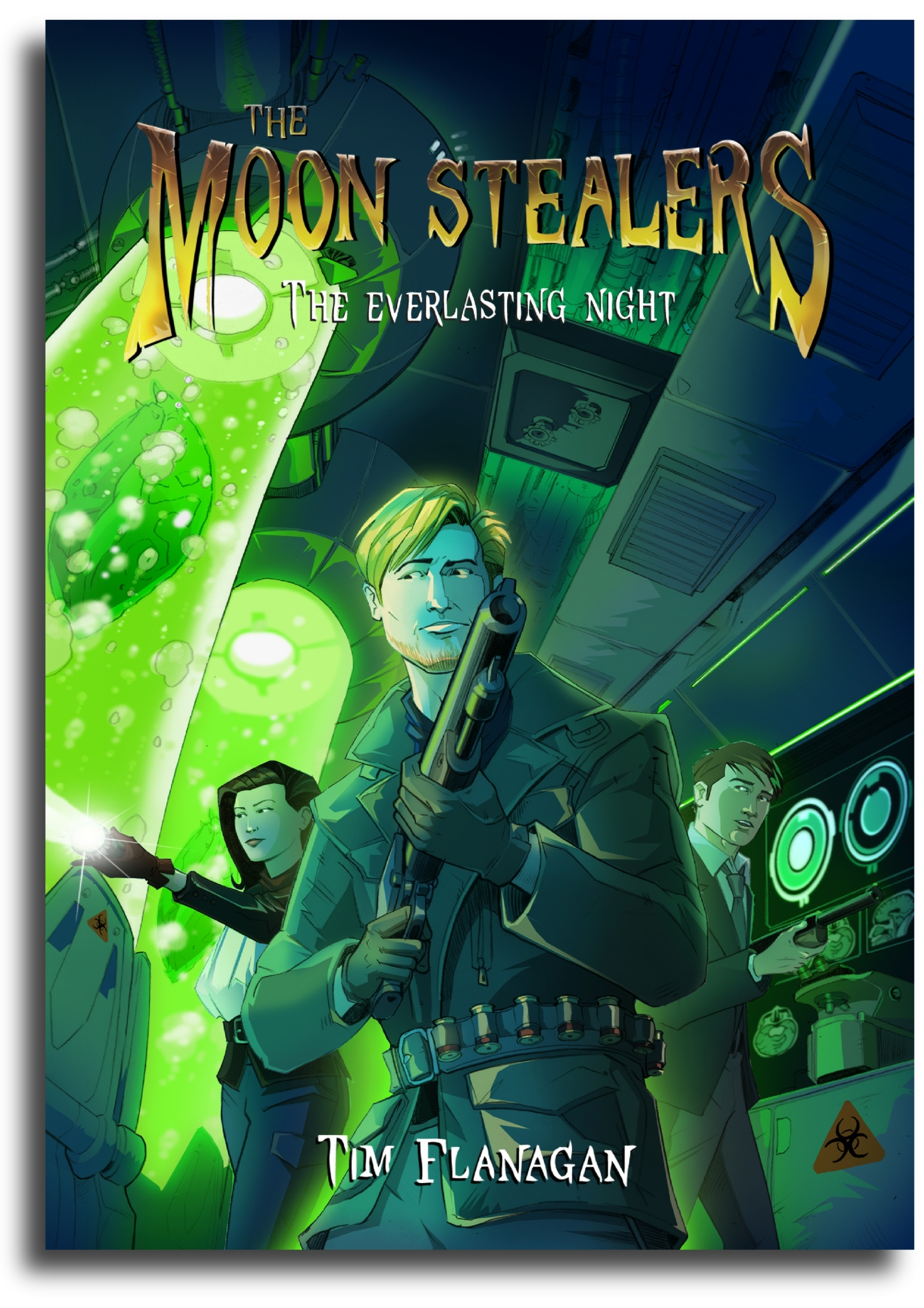 The Everlasting Night (The Moon Stealers Book 3)