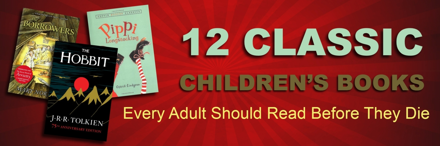 12 Classic Childrens Book Post Banner