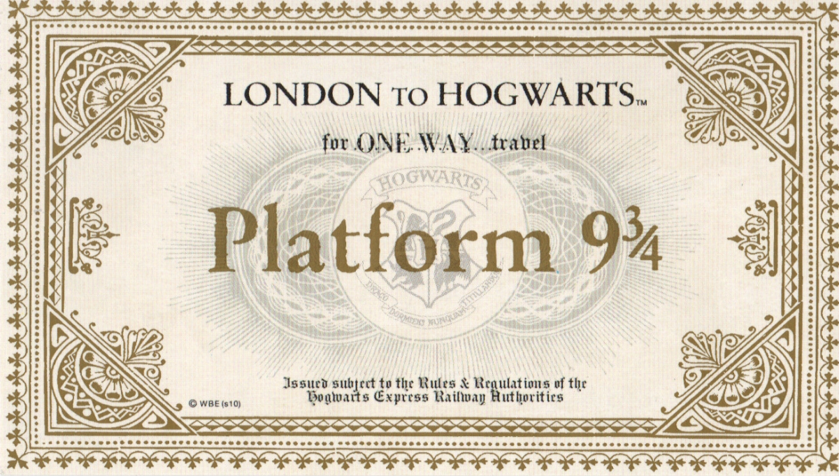 u201clast call for platform 9 3  4 u201d  u2013 5 days left to win harry